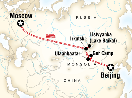 Moscow to Beijing
