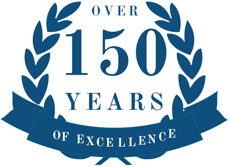Over 150 years of excellence